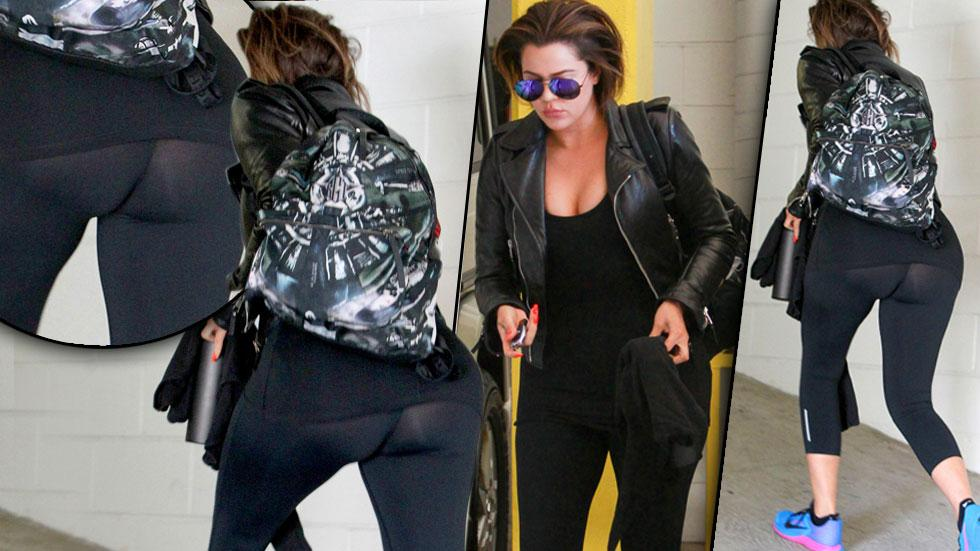 //khloe kardashian butt