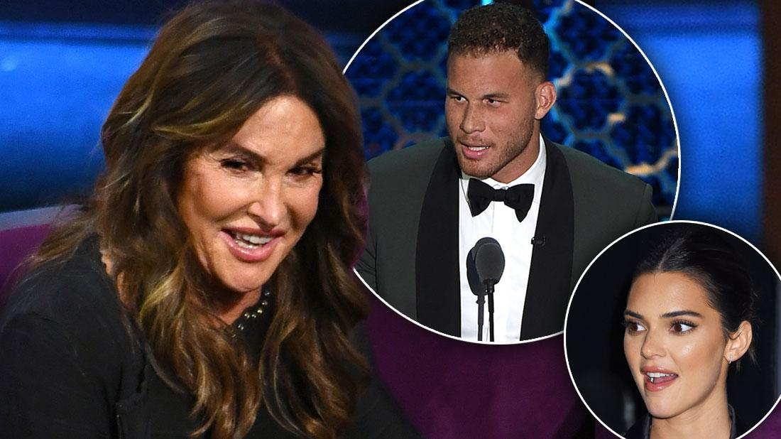 Caitlyn Jenner's Face As Blake Griffin Roasts Her