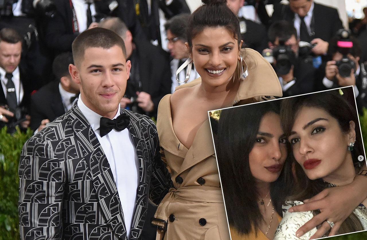 //Priyanka Chopra Engagement Ring Nick Jonas Photo pp