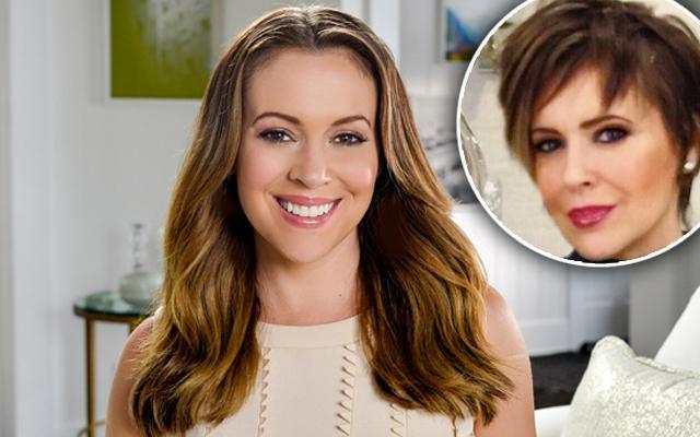 Alyssa Milano Short Haircut Chaz Dean Haircare Lawsuit