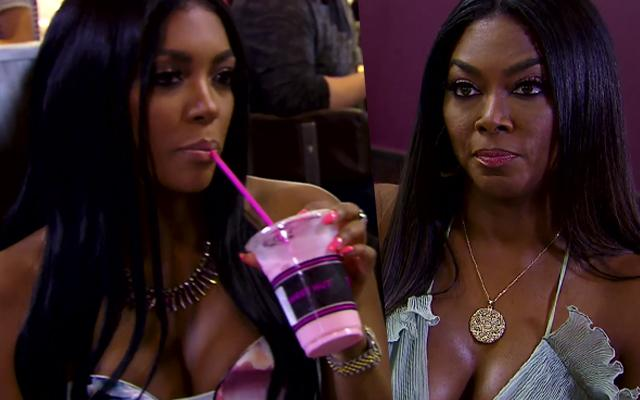 //porsha williams disses kenya moore doesnt trust her fight
