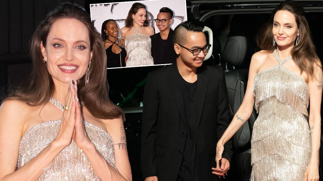 Angelina Jolie at the Maleficent: Mistress of Evil' film premiere Japan