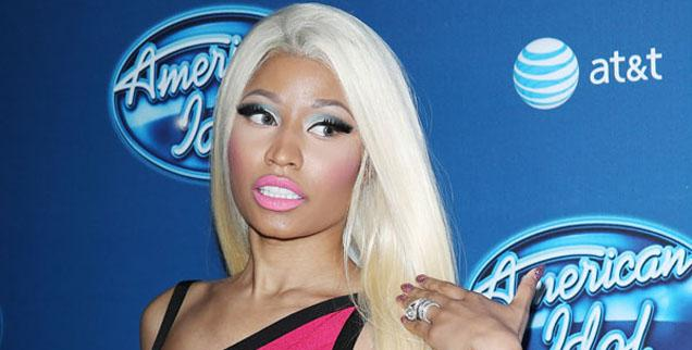 //nicki minaj american idol wide getty