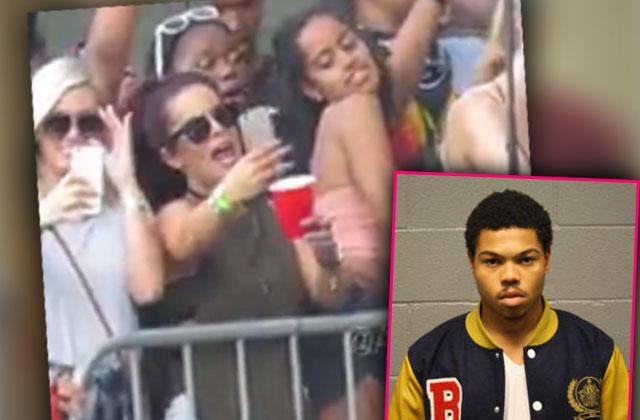 //malia obama twerking concert rapper criminal arrest taylor bennett pp