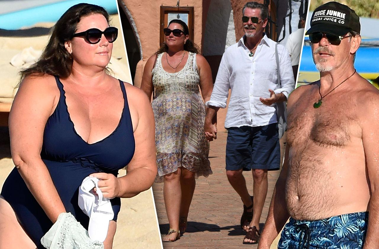 Pierce brosnan wife keely shaye rekindle romance italian vacation
