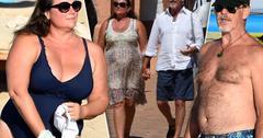 Pierce brosnan wife keely shaye rekindle romance italian vacation