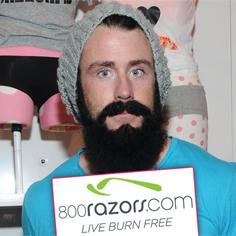 //brian wilson beard shave