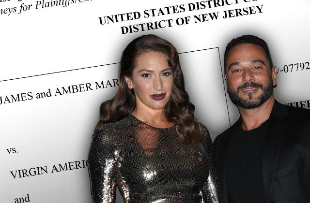 //amber marchese jim marchese virgin airlines lawsuit slam flight attendant countersuit