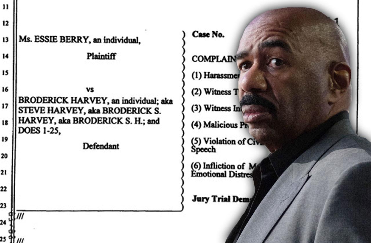 //steve harvey accused stalking new lawsuit pp