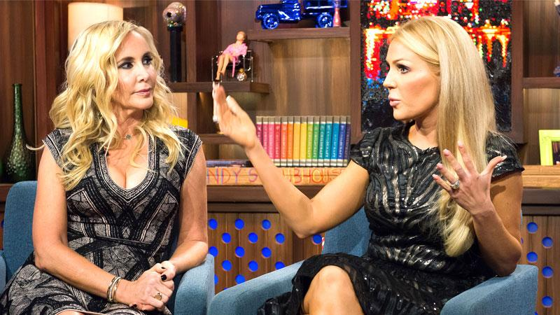 Gretchen Rossi & Shannon Beador Fight Biggest Bombshells From WWHL