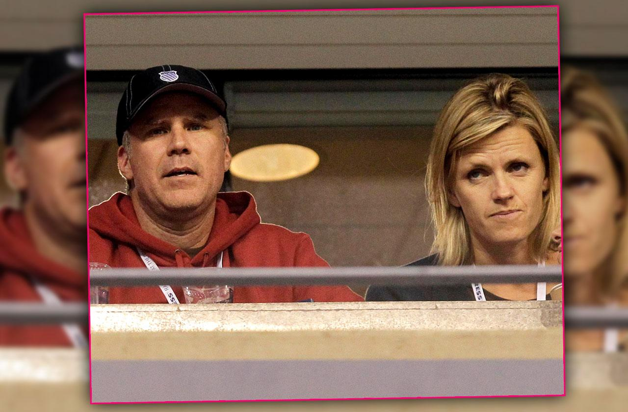 will ferrell marriage trouble wife swedish actress viveca paulin