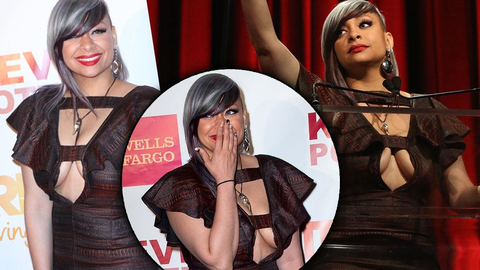 Raven Symone Cleavage Dress Trevor Project