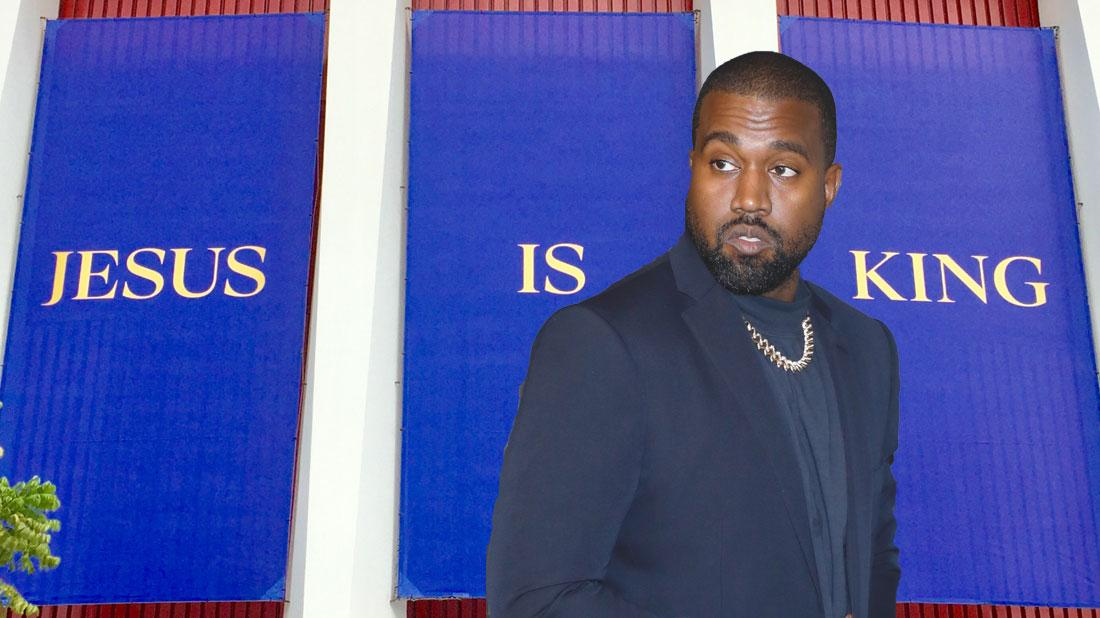 Pious Kanye West Hints At Potential Name Change