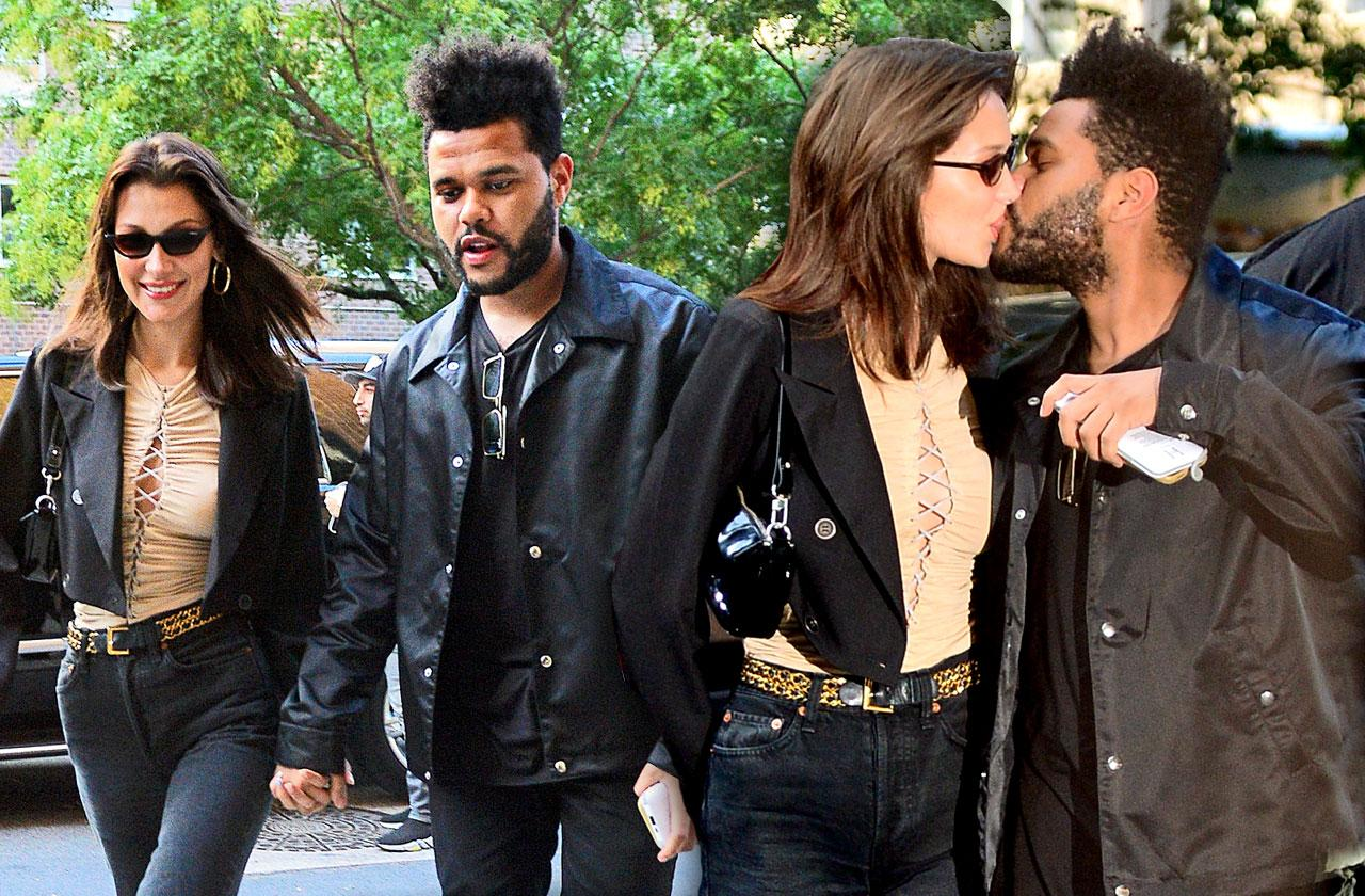 //bella hadid weekend unofficially engaged pp
