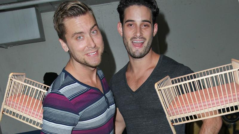 //lance bass michael turchin baby plans pp