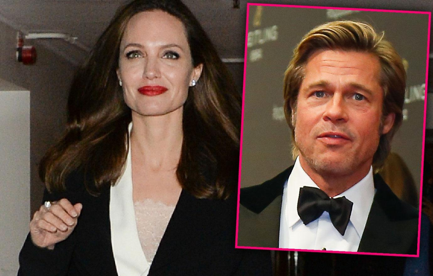Angelina Jolie Attends BFI After Settling Custody Battle Brad Pitt