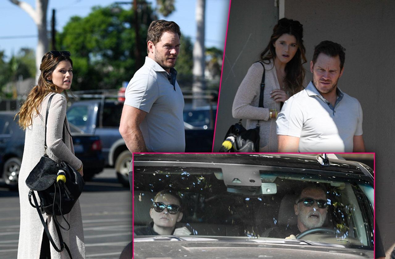 Chris Pratt Meets Katherine Schwarzenegger Parents