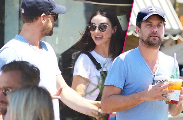 //Joshua Jackson Teen Wolf Star Crystal Reed Dating Rumors pp