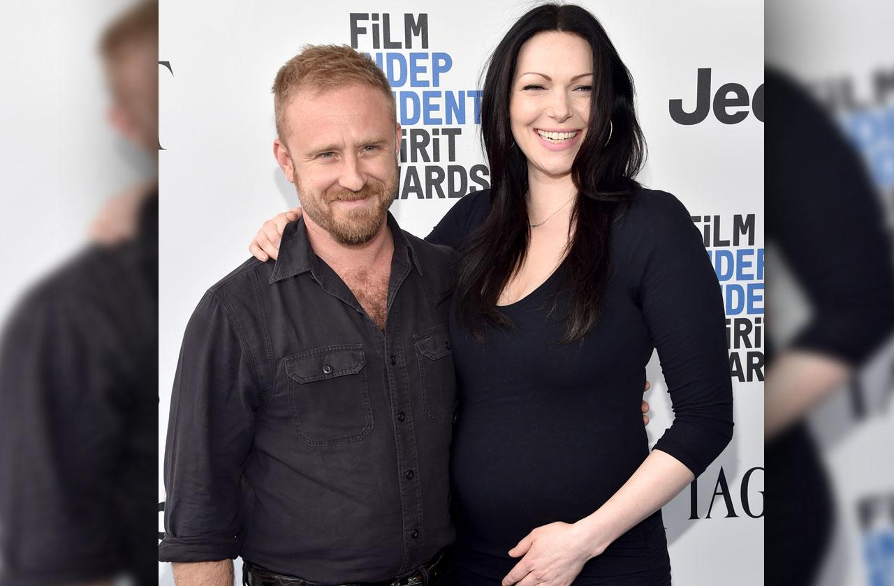 laura prepon pregnant with girl
