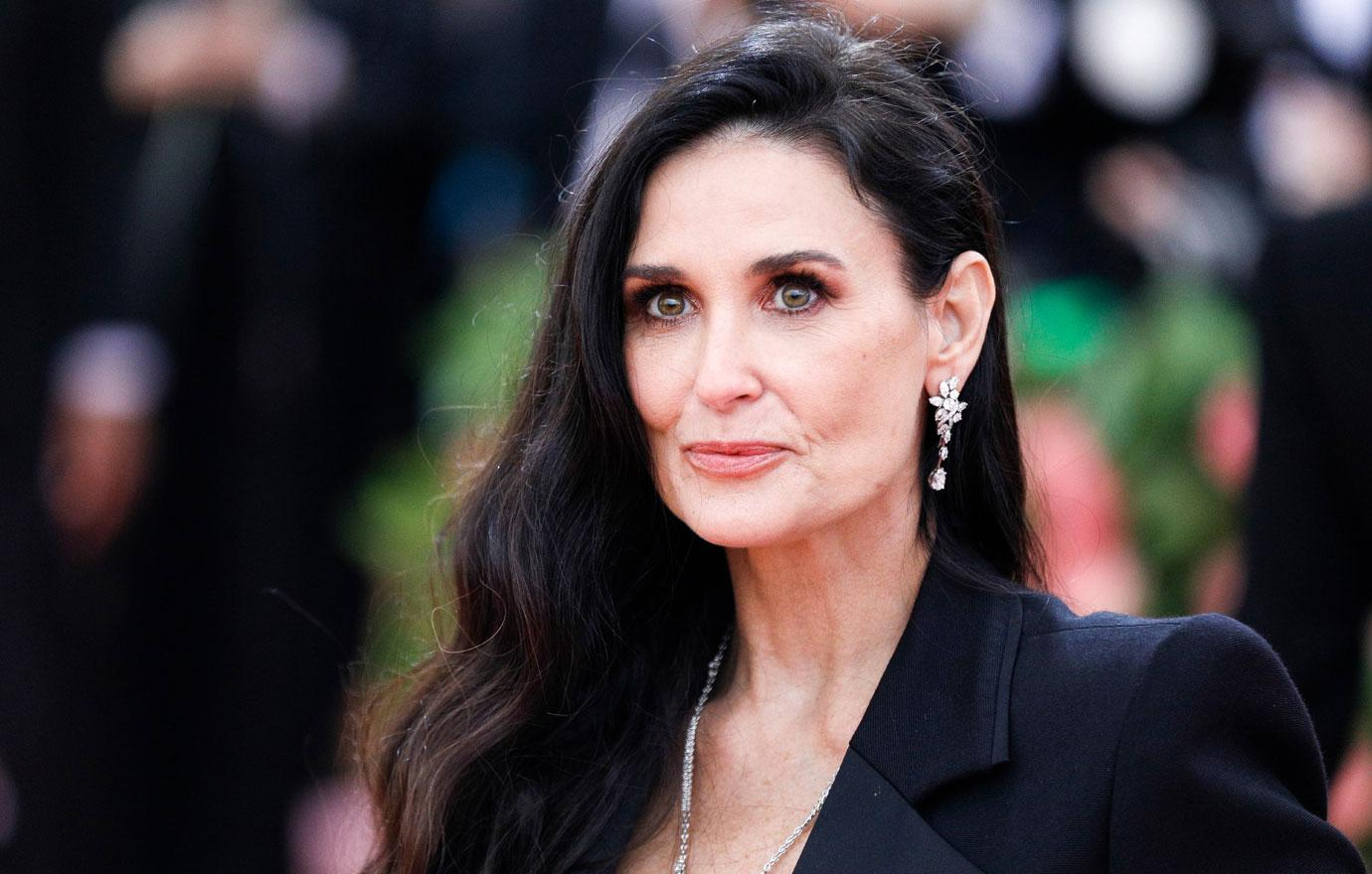 Drugs Cheating & Abuse Demi Moore's 10 Biggest Bombshells In New Book