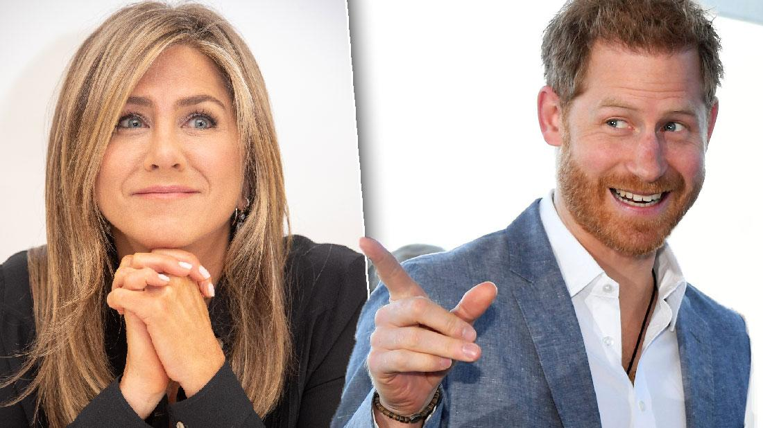 Prince Harry Was Obsessed With Jennifer Aniston