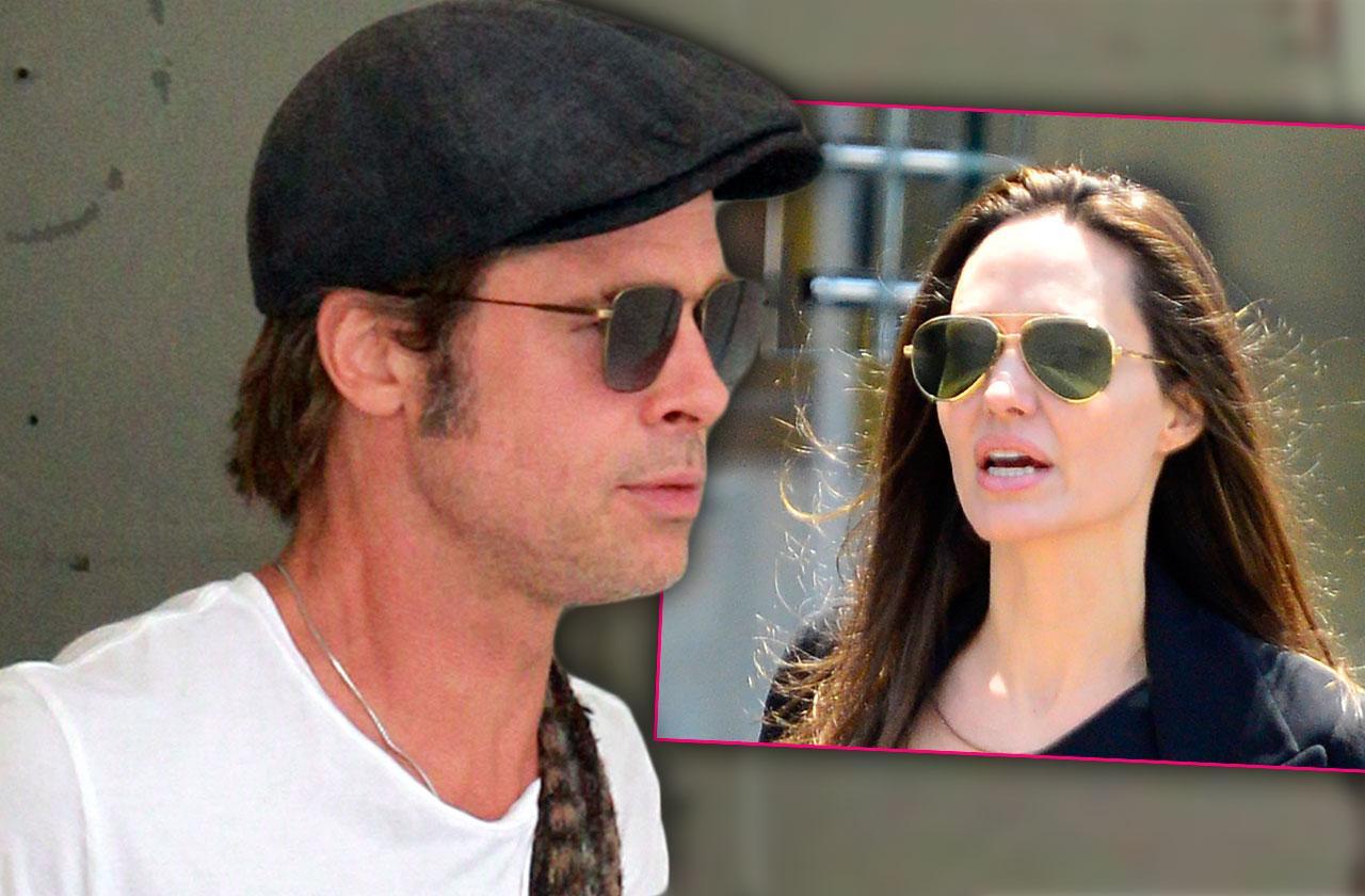 Brad Pitt Lawyer Office Divorce Fight Angelina Jolie