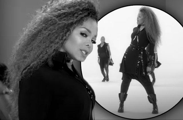 //janet jackson pregnant baby bump new music video pp