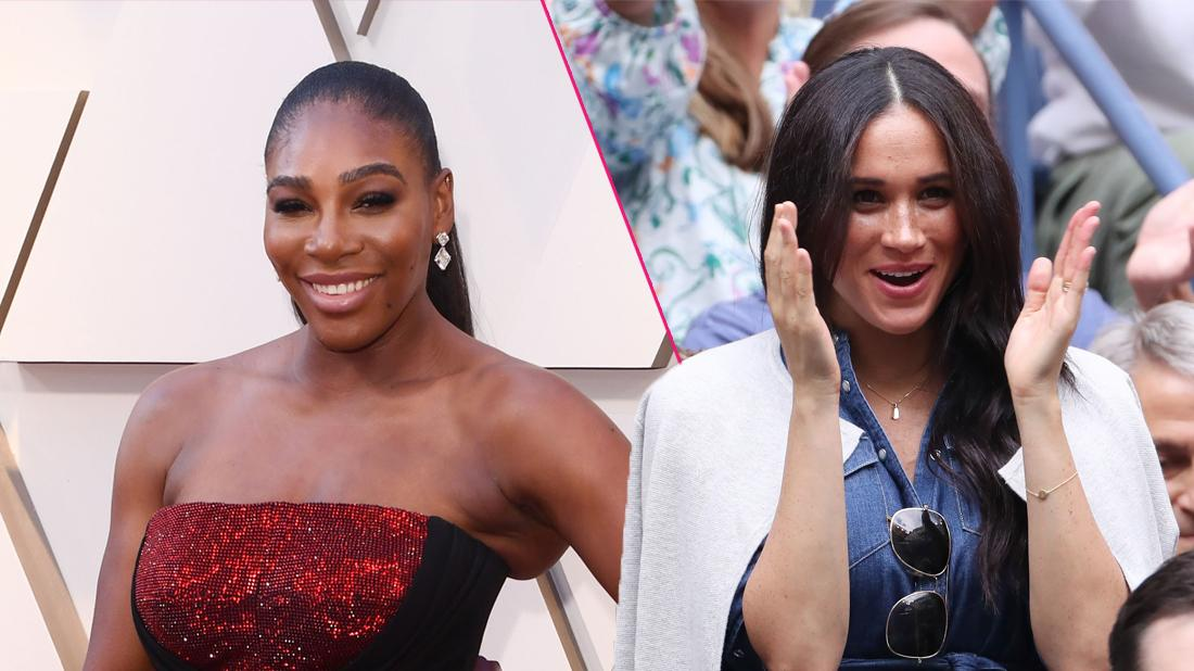 Serena Williams Refuses To Answer Questions About Meghan Markle