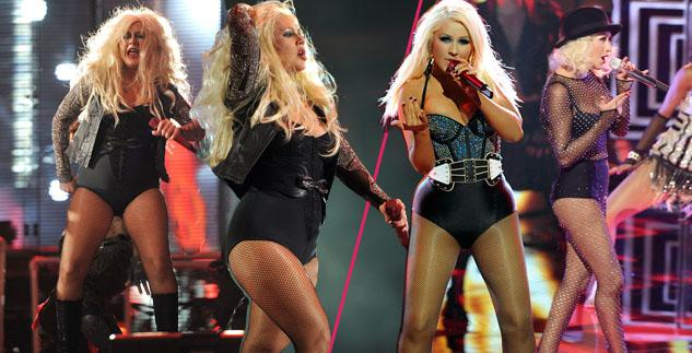 Christina-Aguilera-weight-loss-the-voice-performance