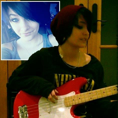 //paris jackson twitter guitar