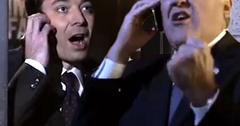 Jay Leno and Jimmy Fallon