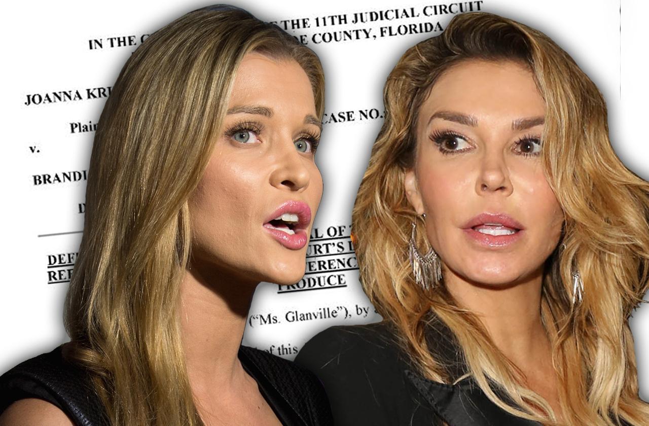brandi glanville lawsuit joanna krupa vagina odor