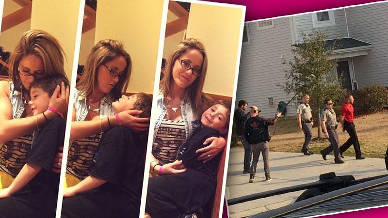 //jenelle evans custody battle fiances arrest wont hurt chances getting son back pp