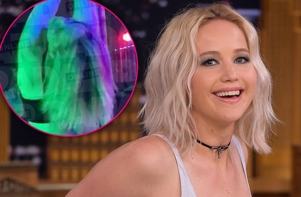Jennifer Lawrence Shirtless Stripper Pole Dance Response