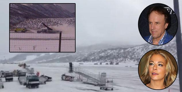 Private jet crashes burns Aspen Airport