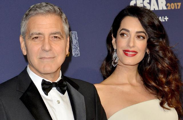 //george amal clooney twins delivery cost PP