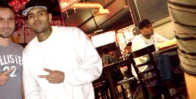 //chris brown out of rehab malibu wide