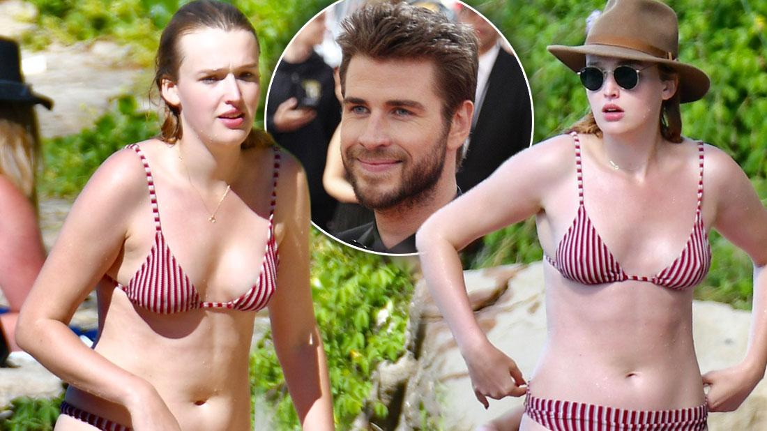 Liam Hemsworth's New Girl Maddison Brown Stuns In Bikini Photos