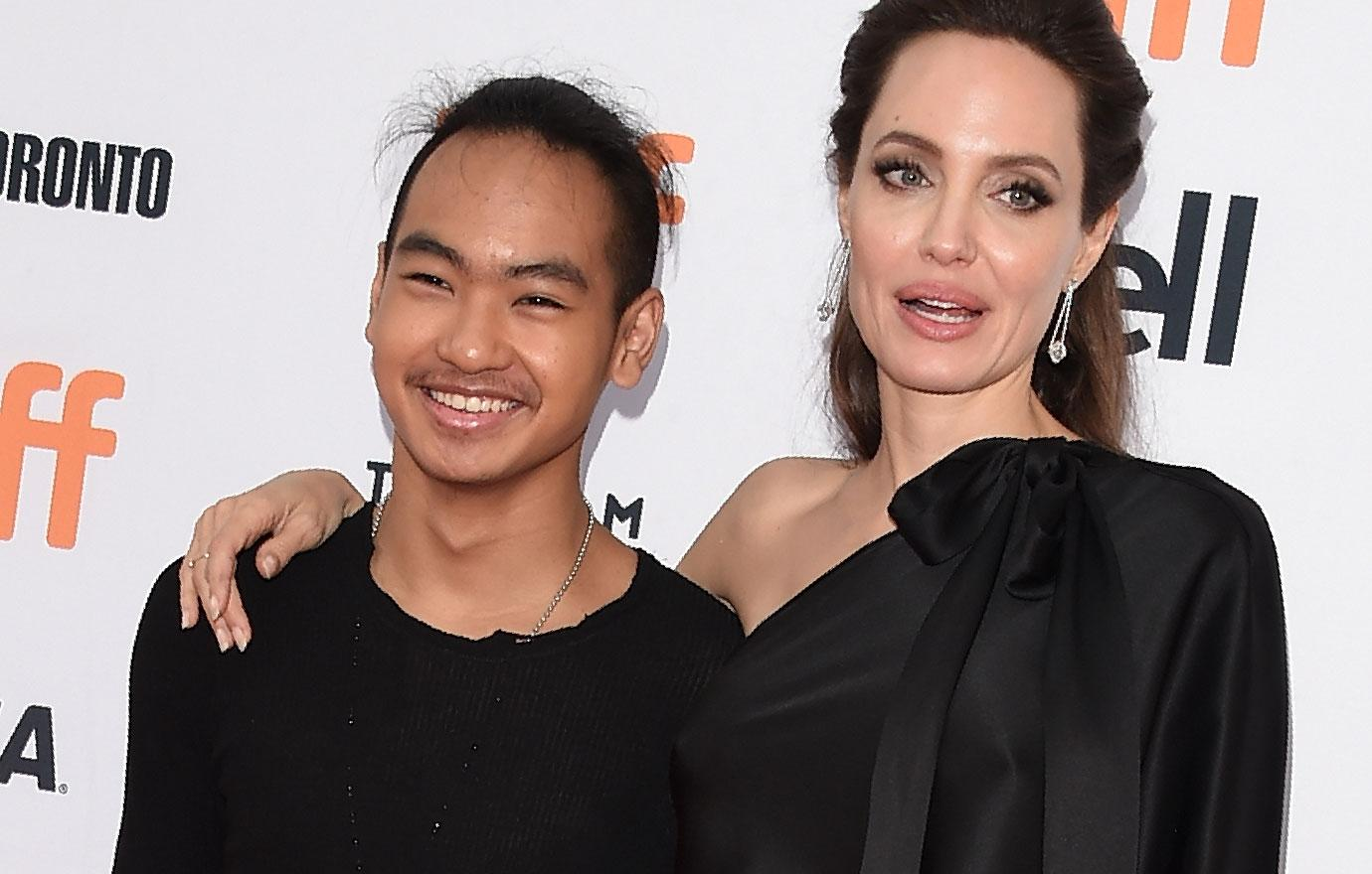 Angelina Jolie Takes Maddox To University In South Korea