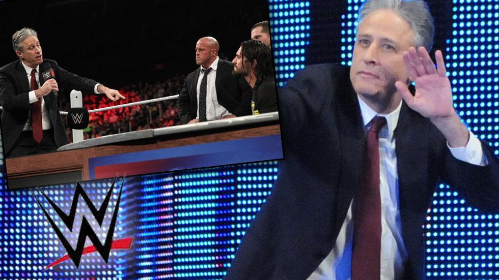 Jon Stewart WWE SummerSlam