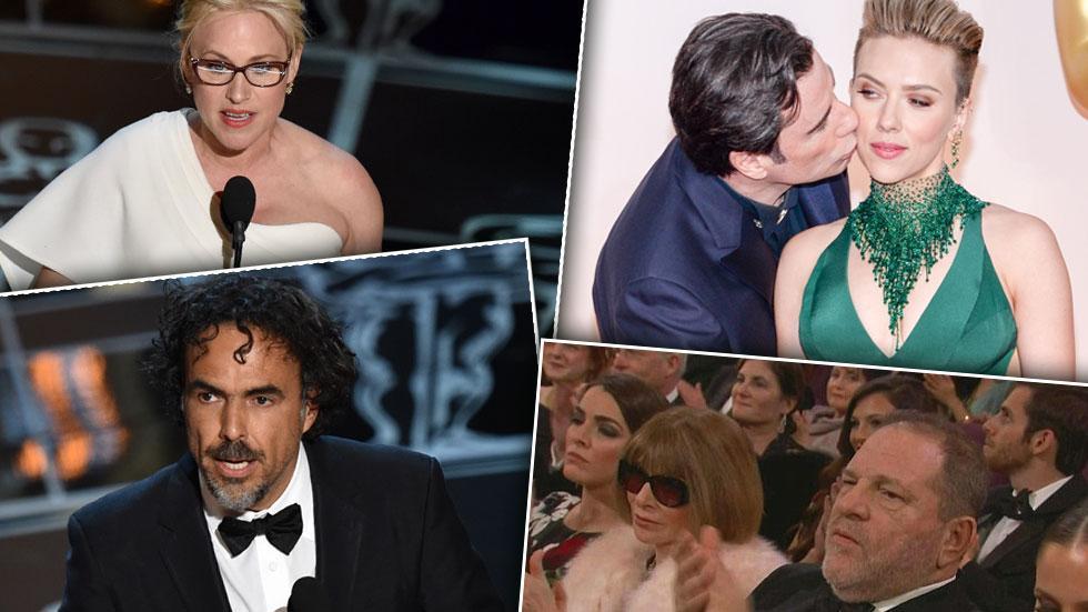 Oscars Inarritu Arquette Wintour
