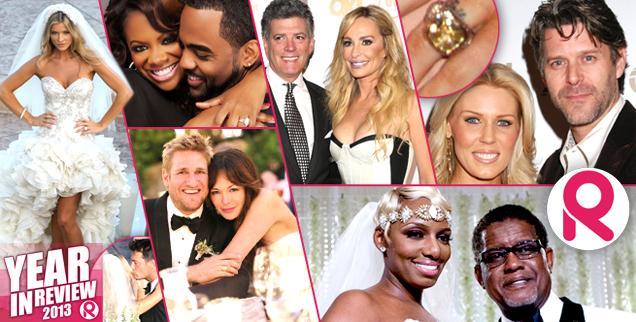 //biggest bravo reality star weddings engagements  wide