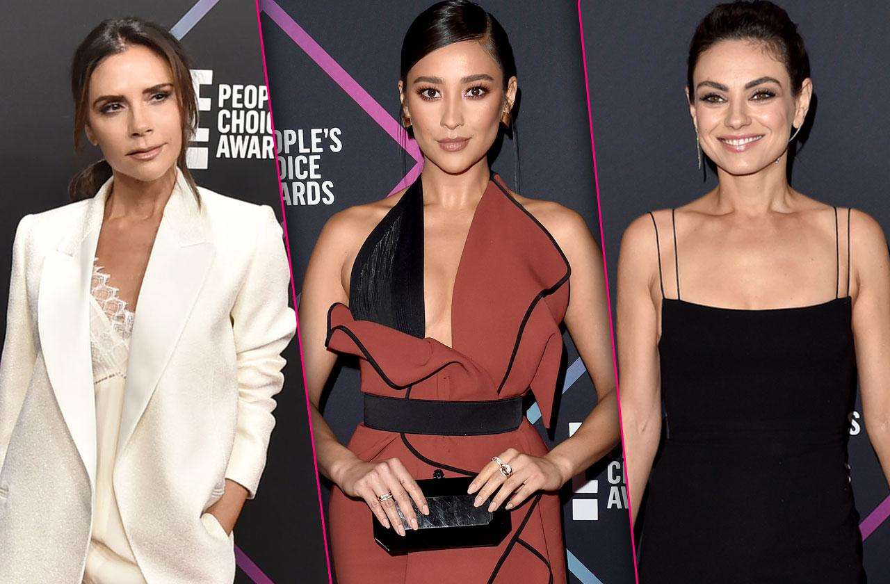 Peoples Choice Awards 2018 Hottest Celebrity Looks
