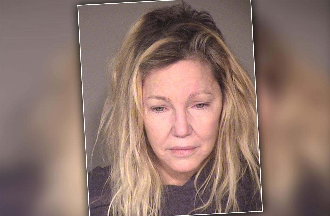 Heather Locklear Mug Shot Revealed