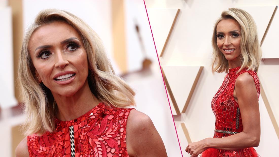 Skeletal! Giuliana Rancic Looks Scary Skinny On The 2020 Oscars Red Carpet