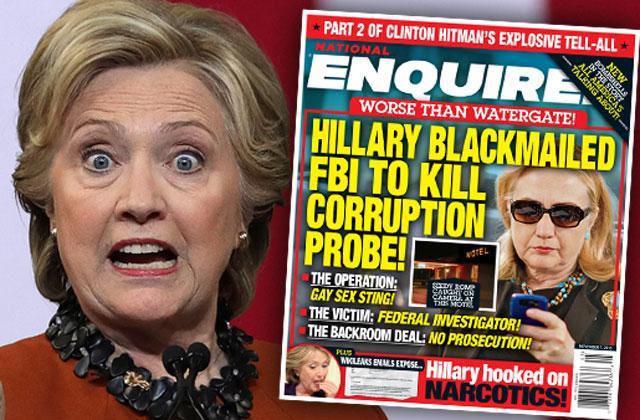 //hillary clinton blackmailed fbi pp