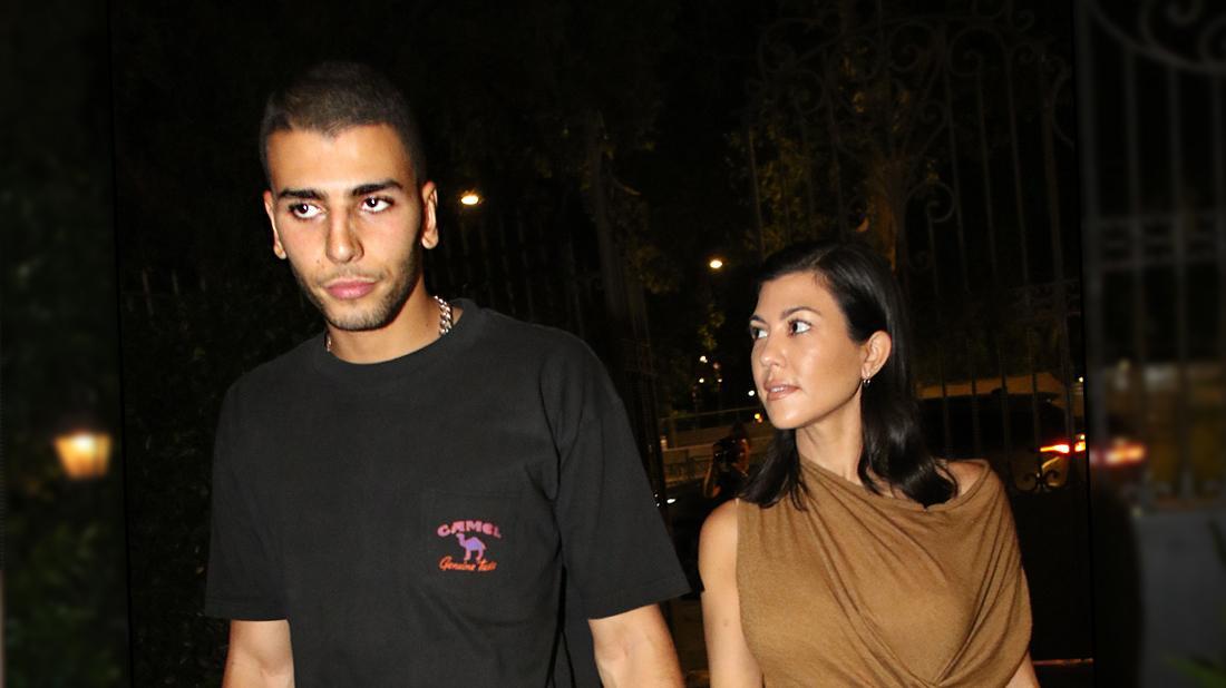Kourtney Kardashian Enjoying No-Strings Fling With 'Persistent' Ex Younes Bendjima