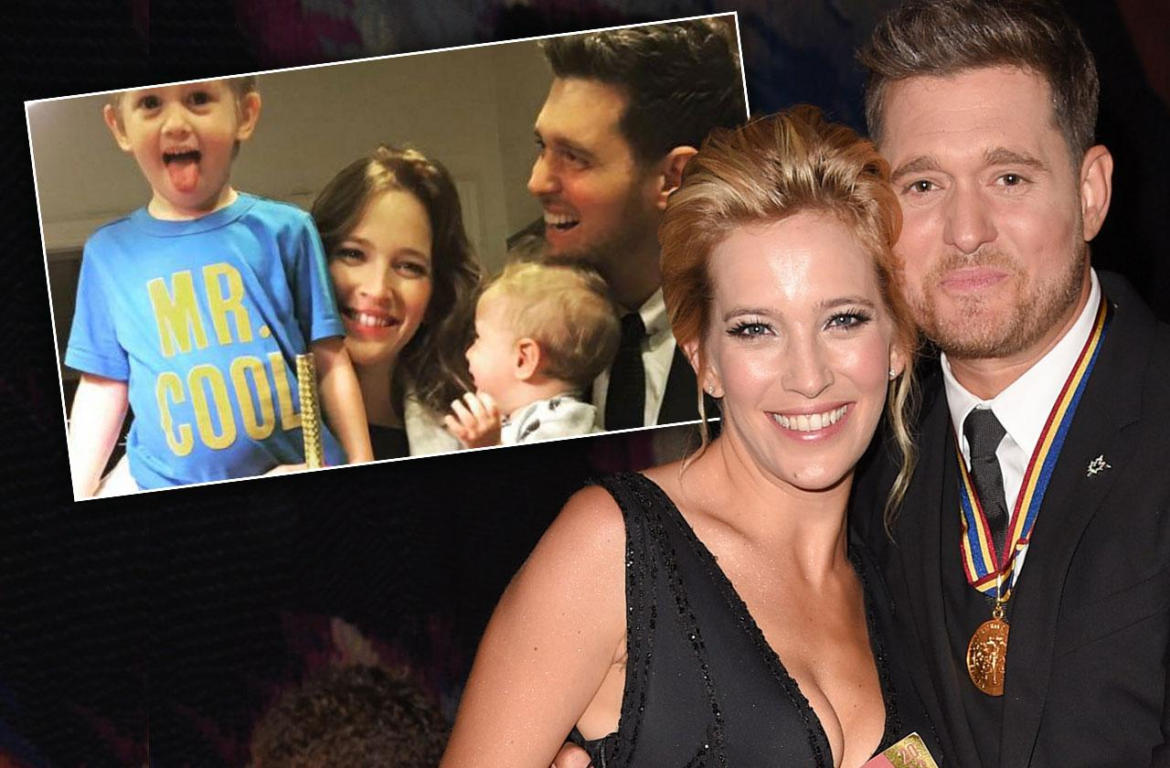 Michael Buble's Son Noah Continues Amazing Recovery From Liver Cancer
