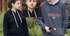 //mila kunis no makeup dog