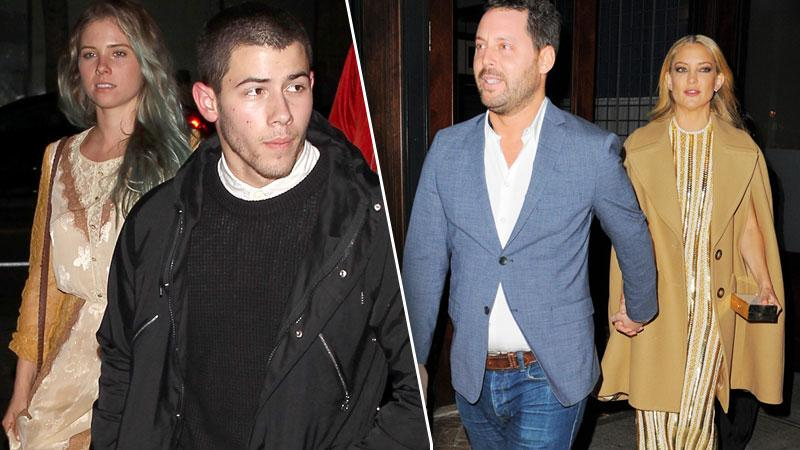 Kate Hudson Nick Jonas Breakup -- Dating, Kissing New Friends